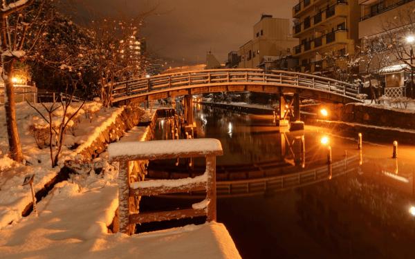 雪の木場親水公園